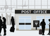 Airport post offices